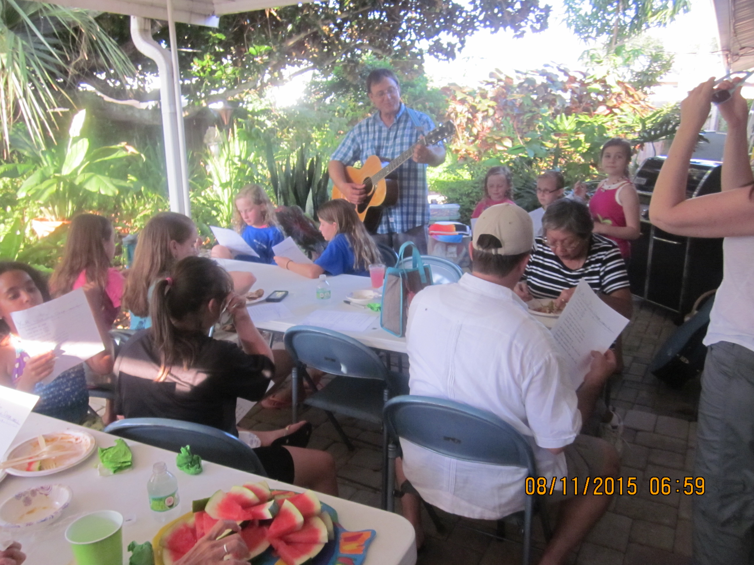 Backyard Bible Study – August 2015