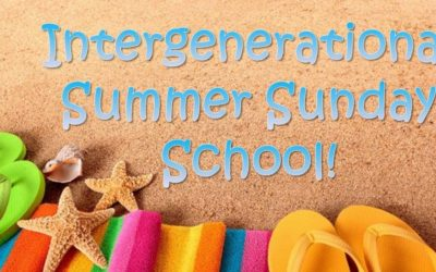 Intergenerational Summer Sunday School