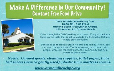 Contact Free Food Drive